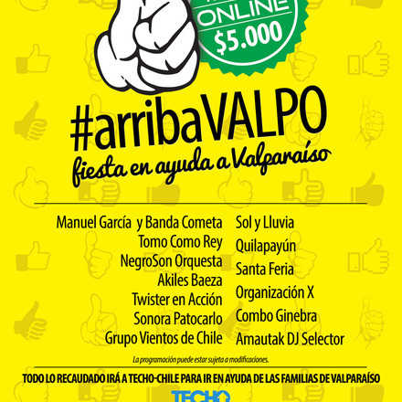 #arribaVALPO
