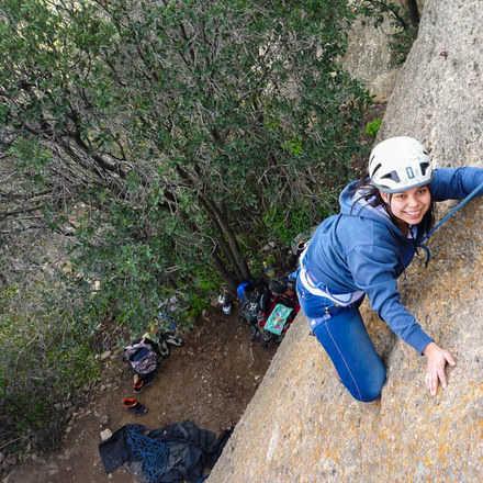 Curso Iniciación a la Escalada en Roca Malku 2  - Febrero 2019
