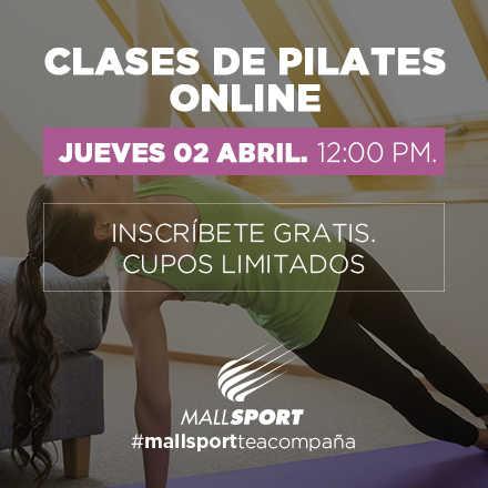Clase Pilates Online - Jueves 02 Abril