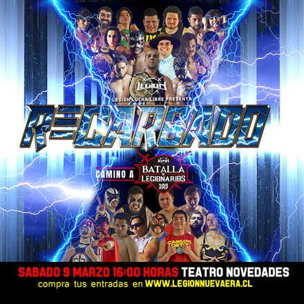 Legión Lucha Libre presenta: RECARGADO 2019