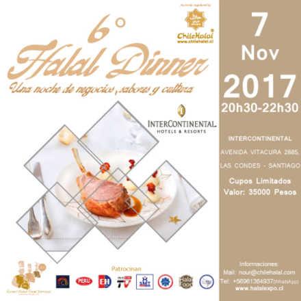 6° CENA HALAL / HALAL DINNER