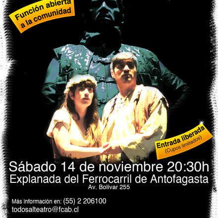 """Todos al teatro presenta: """"Fuenteovejuna"""""""