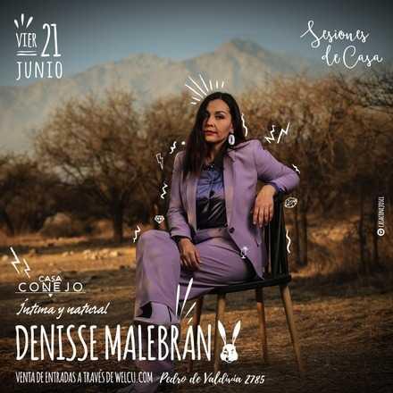 Denisse Malebrán en Casa Conejo
