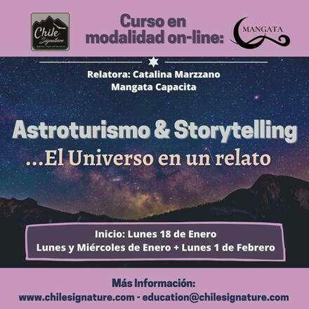 Astroturismo y Storytelling...El Universo en un relato