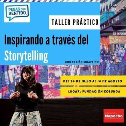 """Taller """"Inspirando a través del Storytelling"""" - Pegas con Sentido"""