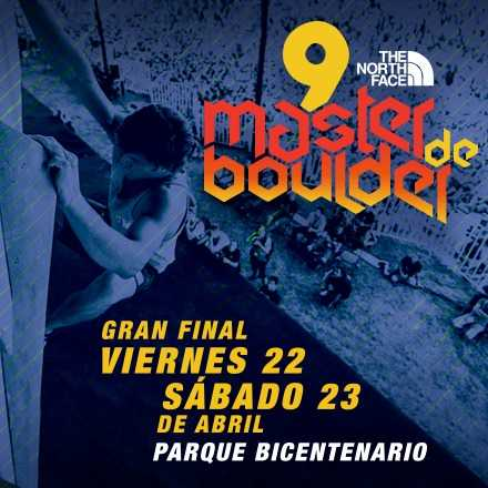 The North Face Master de Boulder 2016