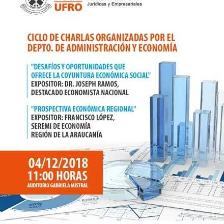 """Conferencia: """"Desafíos y oportunidades que ofrece la coyuntura económica social"""""""