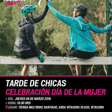 Tarde de Chicas en Multibike Santiago