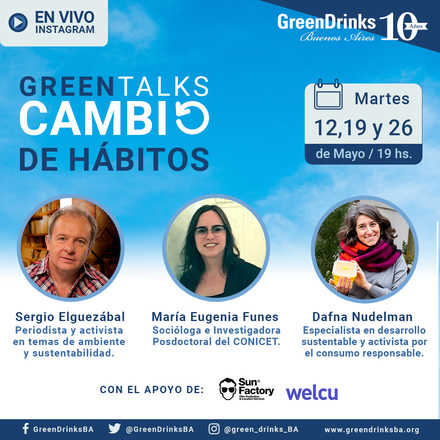 Green Talks Mayo | Cambio de Hábitos