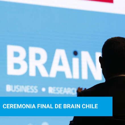 Ceremonia Final BRAIN Chile