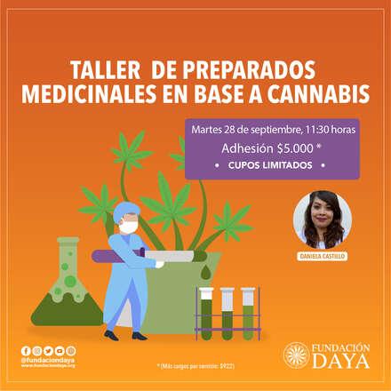 Taller de Preparados Medicinales en Base a Cannabis 28 septiembre 2021