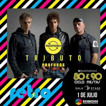 "Tributo a Soda Stereo "" Profugos "" en Sala Stage"