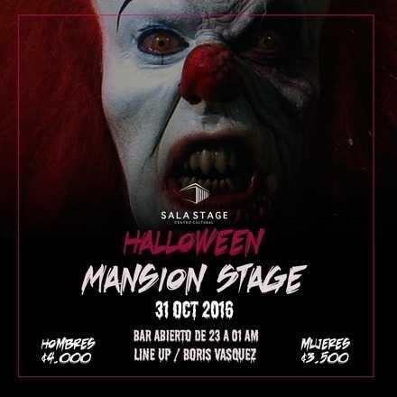 """Halloween """" Mansion Stage """""""