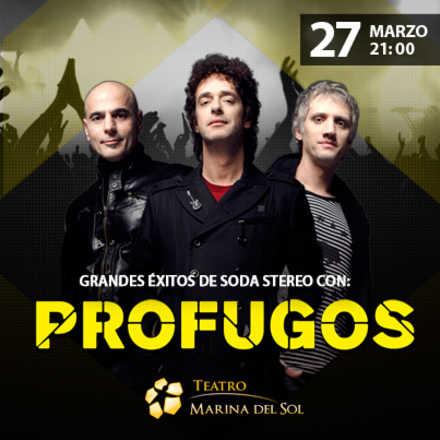 Grandes éxitos de Soda Stereo con Prófugos