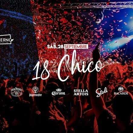 "Santo Averno ""18 Chico"" Sábado 28 de septiembre"