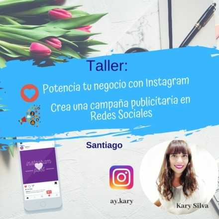 Taller especial emprendedores: Potencia tu negocio con Instagram (06 enero) y Publicidad en Redes Sociales (07 de enero)