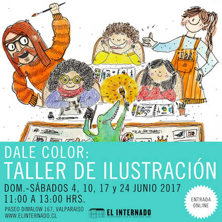 """""""Dale Color"""": taller de ilustración"""