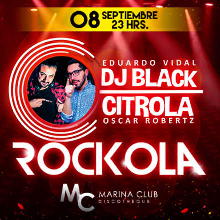 Fiesta Rockola con DJ Black y Citrola