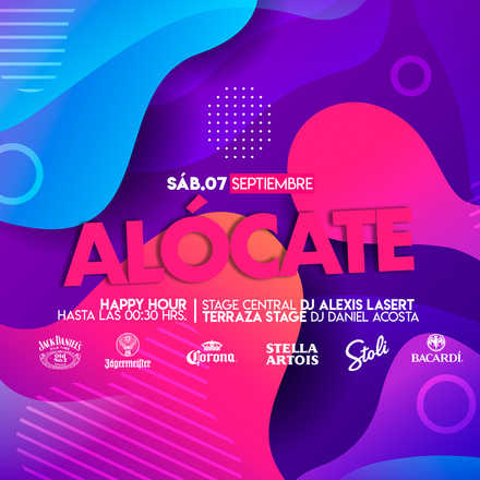 "Santo Averno ""Alócate"" Sábado 07 Septiembre"