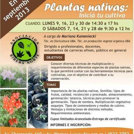PRUEBA Welcu - Plantas Nativas
