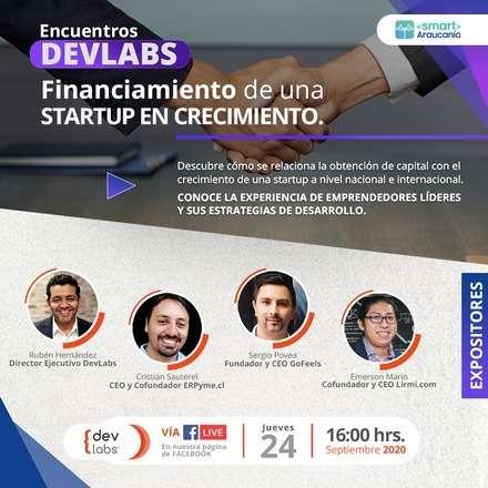 Encuentros Devlabs: Financiamiento de una startup en crecimiento