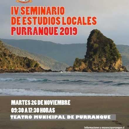 IV SEMINARIO DE ESTUDIOS LOCALES