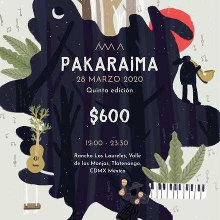 FESTIVAL PAKARAIMA 2020