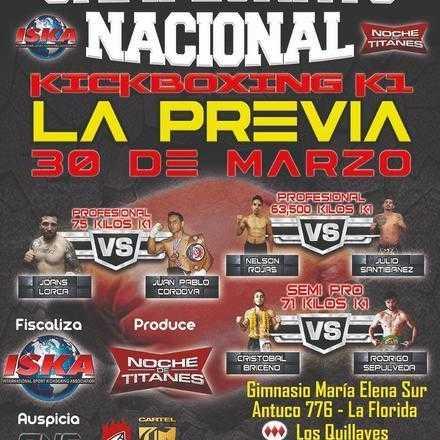 Campeonato Nacional K1