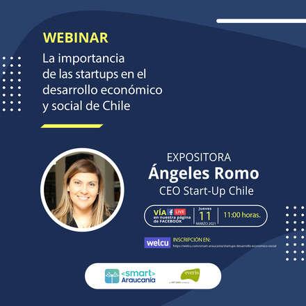 Webinar: La importancia de las startups en el desarrollo económico y social de Chile