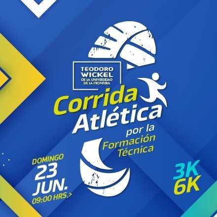 Corrida Atlética por la Formación Técnica CFT Teodoro Wickel 3 y 6 KM