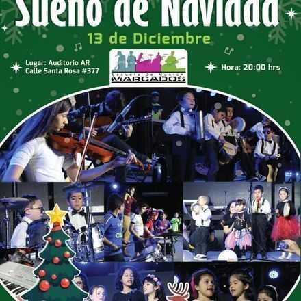 """Concierto De Niños """"Sueños de Navidad"""""""
