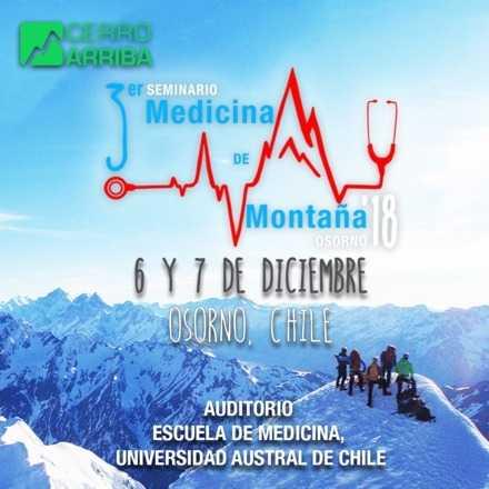 3er Seminario de Medicina de Montaña Osorno 2018