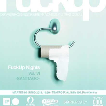 Fuckup Nights Santiago Vol. VI