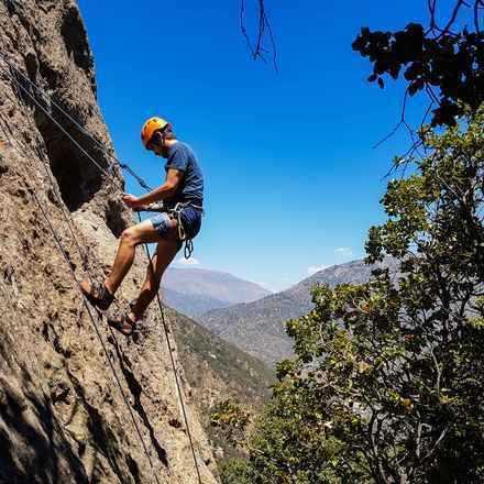 Curso Iniciación a la Escalada en Roca Malku Julio 2019