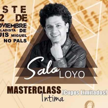 MASTERCLASS INTIMA SALO LOYO CHILE