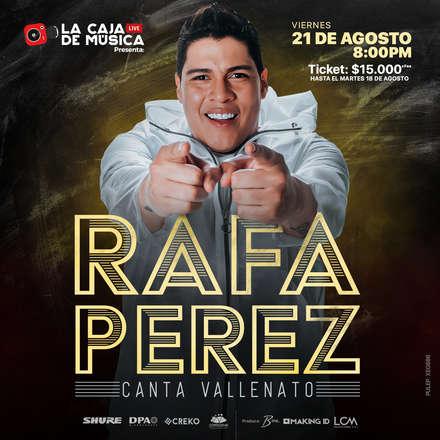 Rafa Perez - Canta Vallenato - PULEP: XEG686