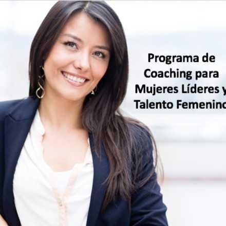 Programa de Coaching para Mujeres y Talento Femenino