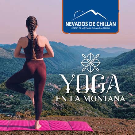 yoga en la montaña