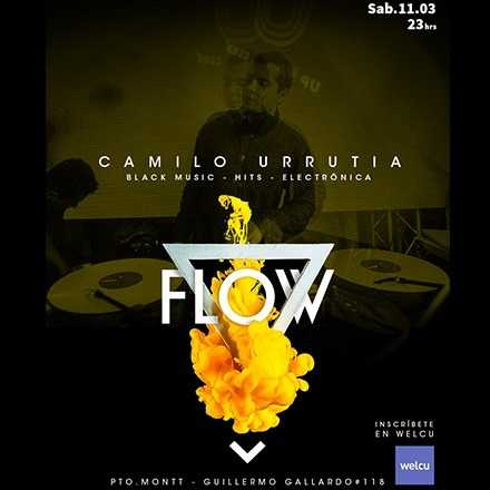 FLOW !  Sábado 11.03 - Puerto Montt