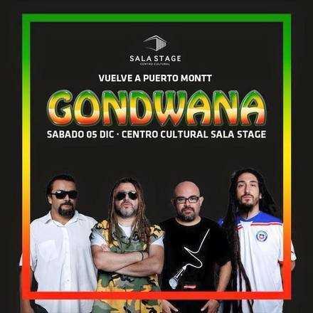 Gondwana en vivo ➟ Centro Cultural Sala Stage