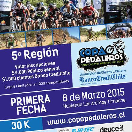 """Banco CrediChile """"Copa Pedaleros"""" 2015"""