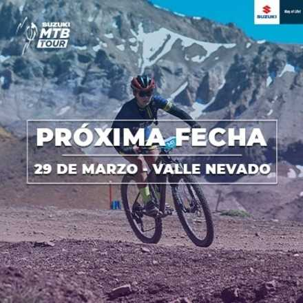 Suzuki Mountain Bike Tour 1era fecha, Valle Nevado