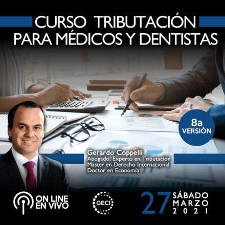 Curso Tributación para médicos y odontólogos (8a versión) ONLINE