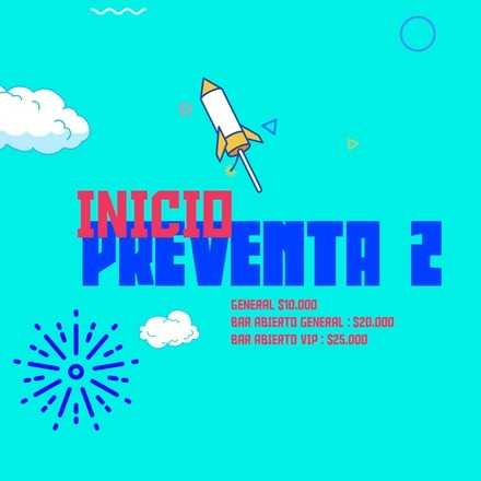 Año Nuevo 2020 --> Keep Calm Fiestas // Entrada General $10.000 c.cover // PREVENTA 2