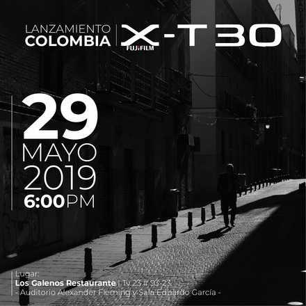 Lanzamiento oficial Fujifilm X-T30