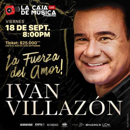 Ivan Villazón - La Fuerza del Amor - PULEP: RHN130