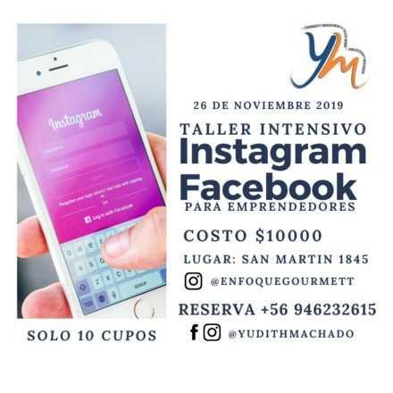 Taller de Facebook e Instagram para Emprendedores