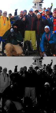Maratón Antartica 2014