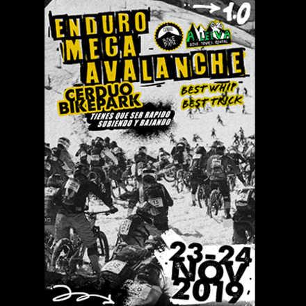 enduro mega-avalanche noviembre 2019