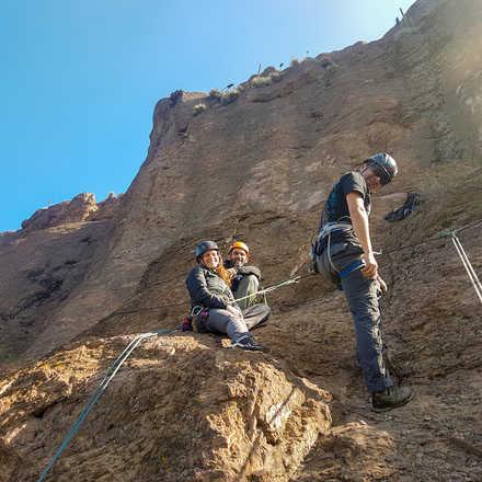 Curso Iniciación a la Escalada en Roca Malku Septiembre 2019
